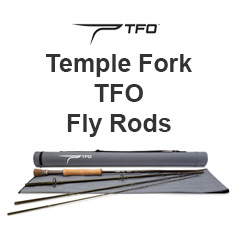 Temple Fork TFO Fly Rod Ad
